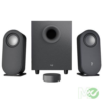 MX00115157 Z407 Bluetooth Speaker System w/ Subwoofer, Wireless Control, Black