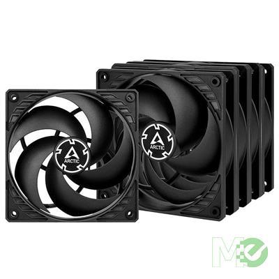 MX00115221 P12 PWM PST 120mm Case Fans, 5-Pack, Black