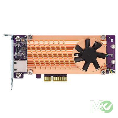 MX00115348 QM2 Series PCI-E Expansion Card w/ 2x PCI-E 2280 M.2 SSD Slots
