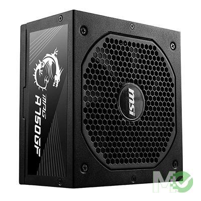 MX00115411 MPG A750GF, 750W ATX 80 PLUS Gold Certified, Fully-Modular, Flat Black Cables, 10 Year Warranty