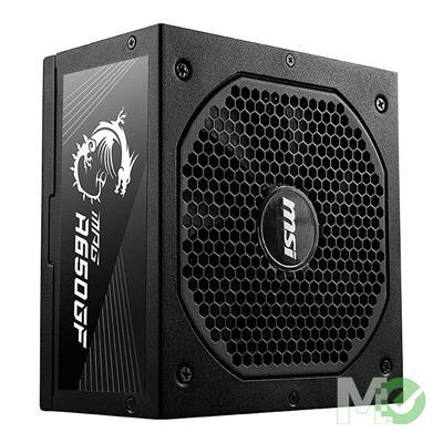 MX00115412 MPG A650GF, 650W ATX 80 PLUS Gold Certified, Fully-Modular, Flat Black Cables, 10 Year Warranty