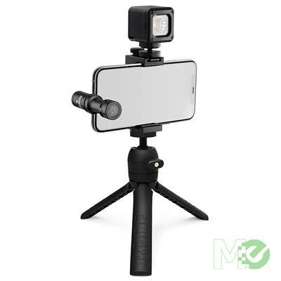 MX00115455 VLogger Kit VLogging Filmmaking Kit, USB-C Edition w/ VideoMic, Tripod, SmartGrip, MicroLED Light