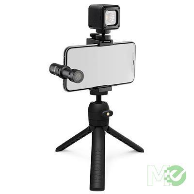 MX00115457 VLogger Kit VLogging Filmmaking Kit, iOS Edition w/ VideoMic, Tripod, SmartGrip, MicroLED Light