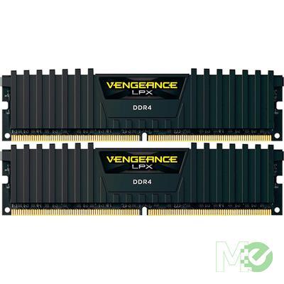 MX00115488 Vengeance LPX 32GB DDR4 3200MHz CL16 Dual Channel Kit (2x 16GB), Black