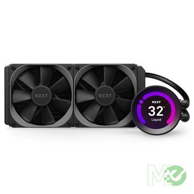 MX00115522 Kraken Z53 240mm AIO Liquid CPU Cooler w/ LCD Display