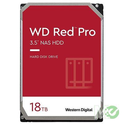 MX00115557 RED Pro 18TB NAS Desktop Hard Drive, SATA III w/ 512MB Cache