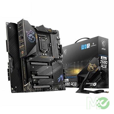 MX00115617 MEG Z590 ACE w/ DDR4-5600(OC), 7.1 Audio, Quad M.2, Thunderbolt™ 4, 2.5G LAN, Wi-Fi 6E, Bluetooth 5.2