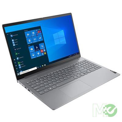 MX00115649 ThinkBook 15 Gen 2 ARE w/ Ryzen™ 5 4600U, 8GB, 256GB M.2 SSD, 15.6in Full HD, Wi-Fi 6, BT, Windows 10 Pro