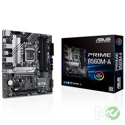 MX00115811 PRIME B560M-A w/ DDR4-2933, 7.1 Audio, Dual M.2, Gigabit LAN