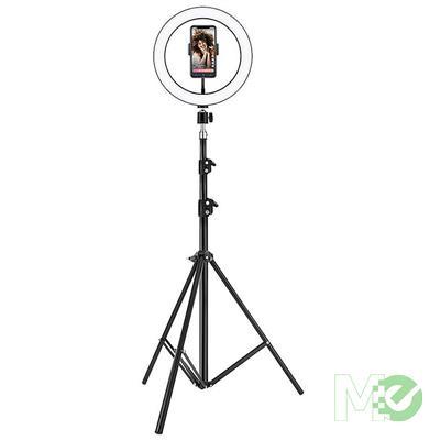 MX00115921 Long Tripod w/ LED Ring Light, 6.8ft