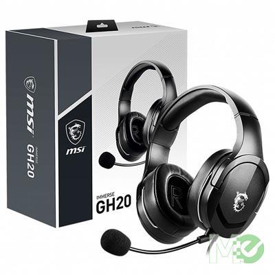 MX00115993 Immerse GH20 Headset. 3.5mm Audio Jack, 245g Ultra Light, Glasses-user Friendly