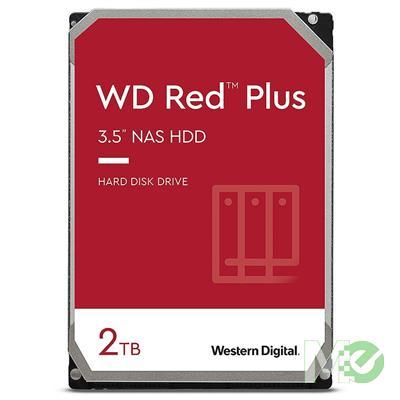 MX00116109 RED Plus 2TB NAS Desktop Hard Drive, SATA III w/ 128MB Cache