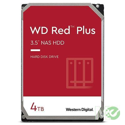 MX00116111 RED Plus 4TB NAS Desktop Hard Drive, SATA III w/ 128MB Cache