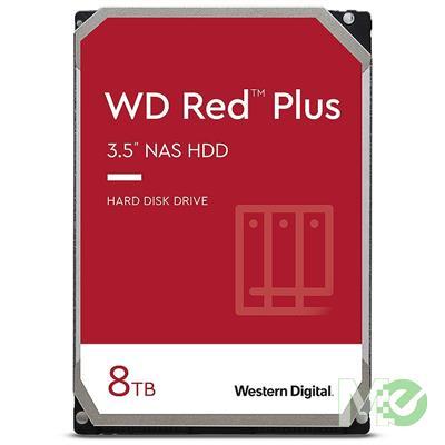 MX00116113 RED Plus 8TB NAS Desktop Hard Drive, SATA III w/ 256MB Cache