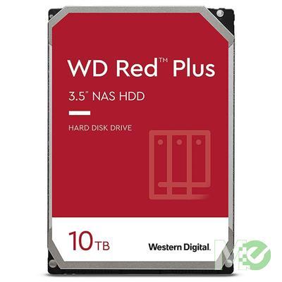 MX00116114 RED Plus 10TB NAS Desktop Hard Drive, SATA III w/ 256MB Cache