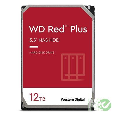 MX00116116 RED Plus 12TB NAS Desktop Hard Drive, SATA III w/ 256MB Cache