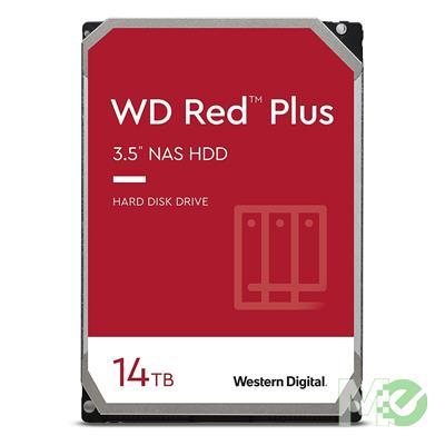 MX00116117 RED Plus 14TB NAS Desktop Hard Drive, SATA III w/ 512MB Cache