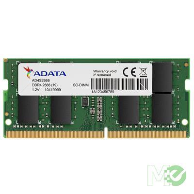 MX00116118 Premier 4GB DDR4-2666 C19 512x8 SODIMM for Notebooks