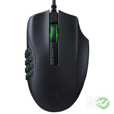 MX00116138 Naga X Optical MMO Gaming Mouse w/ Razer Chroma RGB Lighting, Black