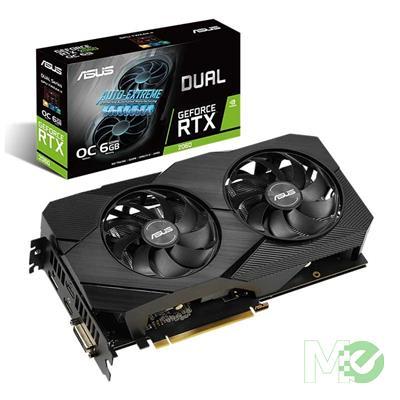 MX00116283 DUAL RTX 2060 OC Edition EVO GeForce RTX 2060 6GB PCI-E w/ Dual HDMI, DP, DVI