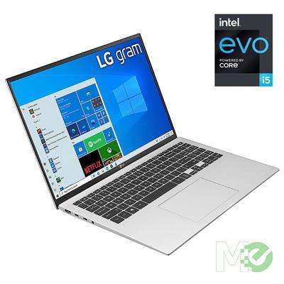 MX00116329 gram 16 16Z90P-K.AA56A8 w/ Core™ i5-1135G7, 8GB, 512GB NVMe SSD, 16in WQXGA, Iris Xe, Wi-Fi 6, BT, Windows 10 Home