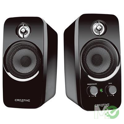 MX00116439 Inspire T10 2.0 Desktop Speakers, Black
