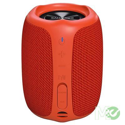 MX00116445 MUVO Play Wireless Portable Speaker w/ Bluetooth, Red