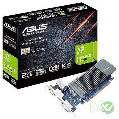 MX00116467 GeForce GT710 2G CSM 2GB PCI-E w/ w/ DVI, HDMI, D-Sub