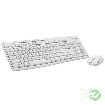 MX00116770 MK295 Silent Wireless Keyboard & Mouse Combo, White