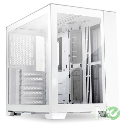MX00117034 O11 Dynamic Mini Computer Case w/ Tempered Glass, Snow White