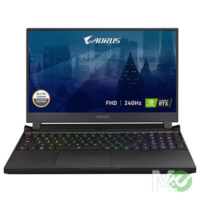 MX00117070 AORUS 15P YD-74US244 w/ Core™ i7-11800H, 32GB, 1TB SSD, 15.6in Full HD 240Hz, GeForce RTX 3080, Wi-Fi 6, BT, Win 10 Home
