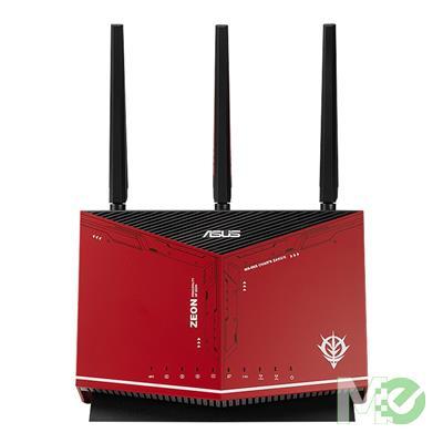 MX00117102 RT-AX86U GUNDAM ZAKU II EDITION Wi-Fi 6 Wireless Gaming Router