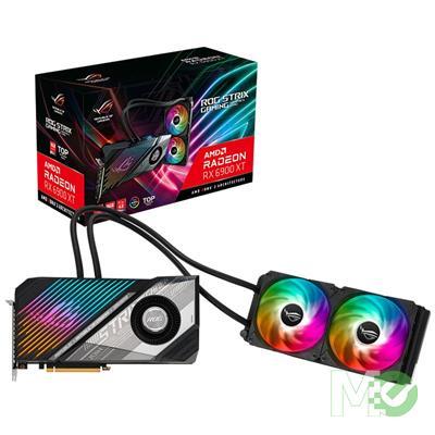 MX00117406 Radeon Strix LC RX 6900 XT T16G Gaming 16GB PCI-E w/ HDMI, Dual DP, USB Type-C