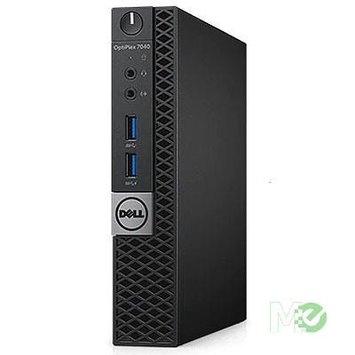 MX00117452 Optiplex 7040 Micro Desktop PC (Refurbished) w/ Core™ i7-6700, 8GB, 256GB SSD, Windows 10 Pro