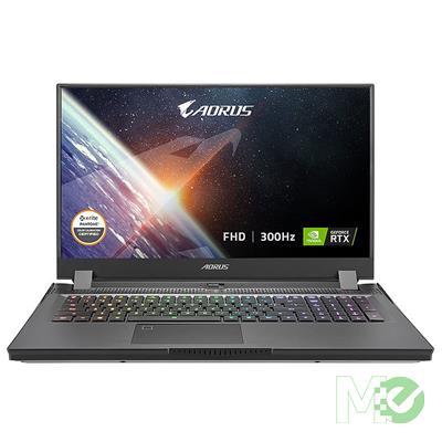 MX00117770 AORUS 17G YD-73US345SH w/ Core™ i7-11800H, 32GB, 512GB SSD, 17.3in Full HD 300Hz, GeForce RTX 3080, Win 10 Home
