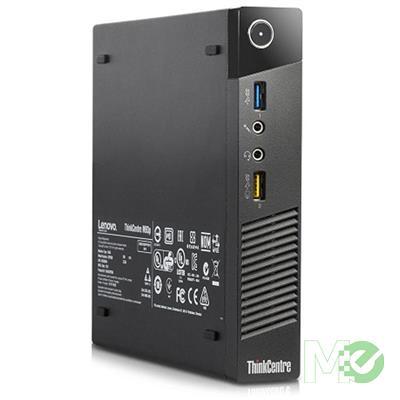 MX00117859 ThinkCentre M93p Tiny Desktop PC (Refurbished) w/ Core™ i5-4570T, 8GB, 256GB SSD, Windows 10 Pro