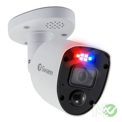 MX00117908 Enforcer 1080p Full HD Bullet Security Camera Add-On w/ Sensor Lights