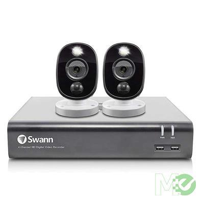 MX00117909 2 Camera 4 Channel 1080p Full HD DVR Security System w/ 1TB Hard Drive