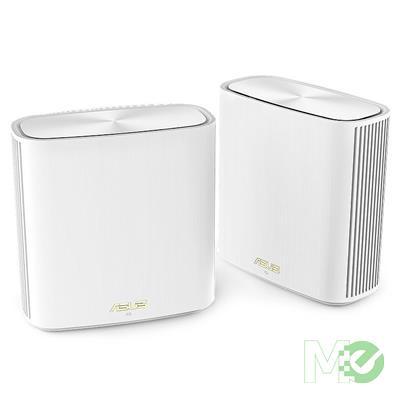 MX00118136 ZenWiFi XD6 AX5400 Dual-Band Wireless Mesh Wi-Fi 6 Router, 2-Pack, White