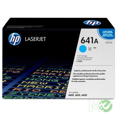 MX10367 Color LaserJet 641A Print Cartridge, Cyan