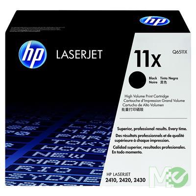 MX12947 LaserJet 11X High Yield Tone Cartridge, Black