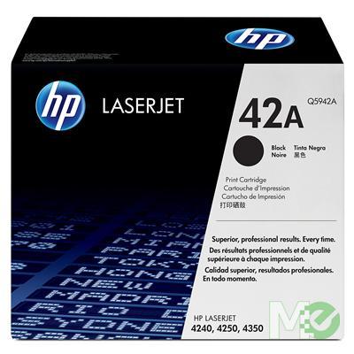 MX13969 LaserJet 42A Print Cartridge, Black