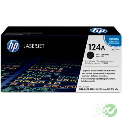 MX14302 Color LaserJet 124A Print Cartridge, Black