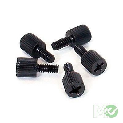 MX1532 Metal Thumbscrews #6-32 x 5/16in, Pkg of 50