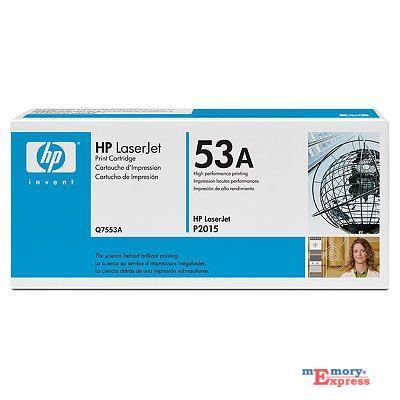 MX15826 LaserJet 53A Print Cartridge, Black