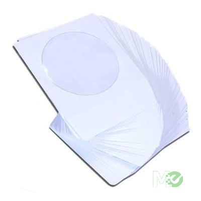 MX22436 CD/DVD Paper Sleeves, 100 Pack