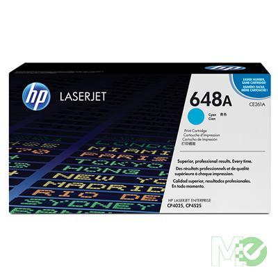 MX27080 Color LaserJet 648A Print Cartridge, Cyan