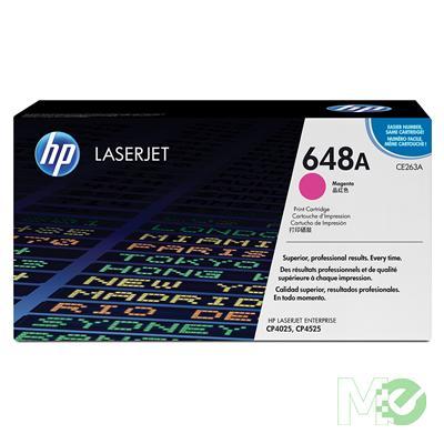 MX27082 Color LaserJet 648A Print Cartridge, Magenta