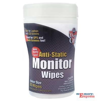 MX31179 Anti-Static Monitor Wipes, Tub 35