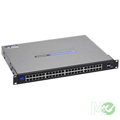 MX32501 SG200-50 48-Port Managed Gigabit Switch w/ 2 Combo RJ45 / SFP Ports